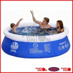 Piscina Inflable 2074 lts con filtro
