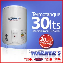 Termotanque 30 lts Warners