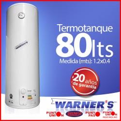 Termotanque 80 lts Warnes