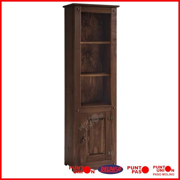 Biblioteca madera maciza