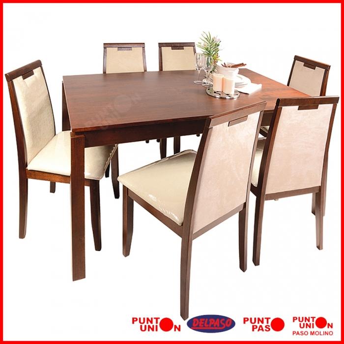 Sillas tapizadas de comedor coleccin de sillas tapizadas for Comedor sillas tapizadas