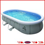 Piscina Inflable 11180 lts completa