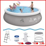 Piscina Inflable 11621 lts con bomba y filtro