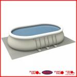 Piscina Estructural 17190 lts completa